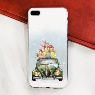 Яркий чехол для IPhone, силикон