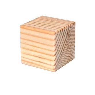Деревянная Заготовка Основа для Бизикубика 4,5 см БИЗИКУБИК из сосны 45 мм дерев'яний БІЗІКУБИК