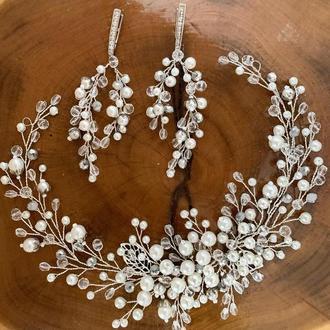 Свадебный набор украшений