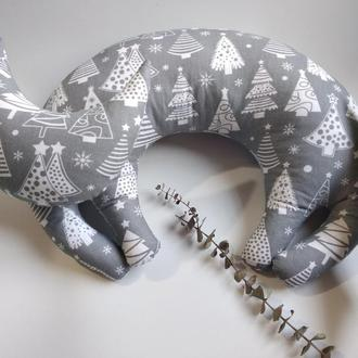 Подушка кошка Подушка для шеи Дорожная подушка Ортопедическая подушка Подушка под голову