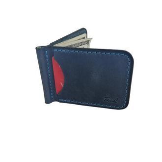 Голубой кошелек с зажимом хн7 (10 цветов)