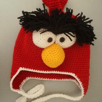 Шапка Энгри Бердс (шапочка Angry Birds)