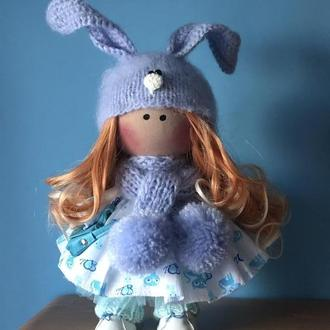 Интерьерная кукла Зайка