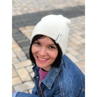 Двойная шапка бини-чулок