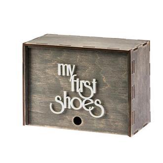 Подарочная шкатулка воспоминаний Lapchu My first shoes BX2202