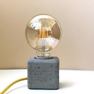 Бетонный светильник