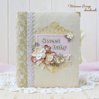 Детский фотоальбом для новорожденной девочки
