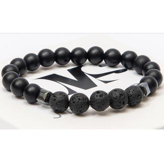 Браслет DMS Jewelry из натуральных камней шунгита, гематита, лавового камня MEN'S STULE