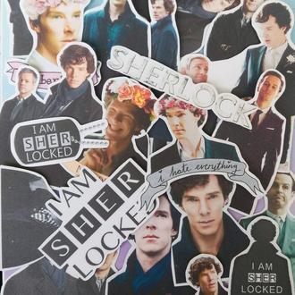 "Наклейки ""Sherlock / Шерлок #1"" (Набор 22 шт.)"