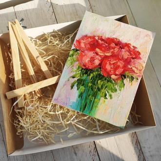 Картина Розы, подарочный набор