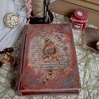 Книга шкатулка