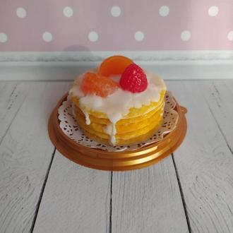"""Мыло """"Тортик мандариновый"""""""