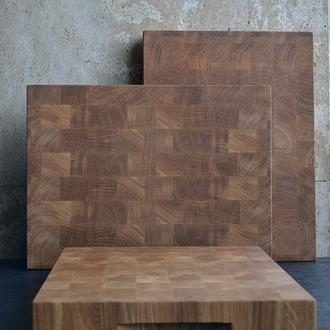 Деревянная доска дубовая (40х30х4см)