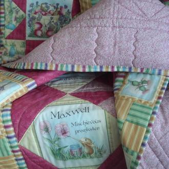 """Лоскутное одеяло """"Очаровательные мышки"""""""