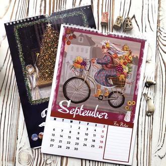 Календарь перекидной настенный на 2021 год