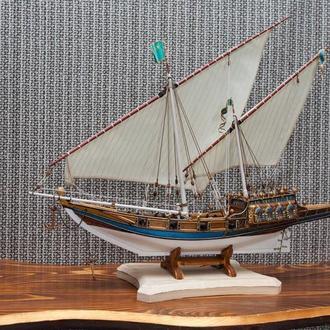 Модель парусника *Арабская Ганья* 1800год
