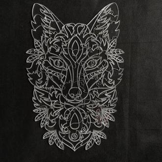 """Прозрачный пазл, """"Призрачный волк"""""""