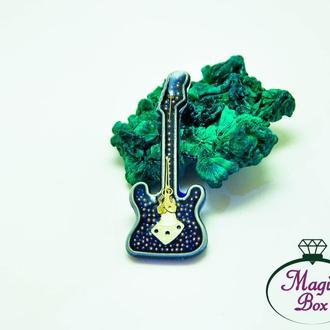 Стимпанк кулон гитара