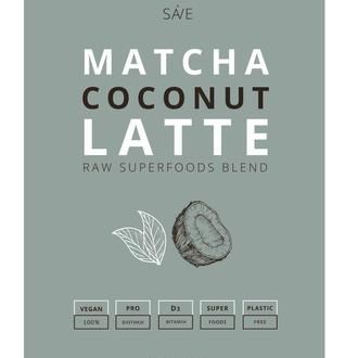 MATCHA COCONUT LATTE | raw смесь суперфудов, 60 g