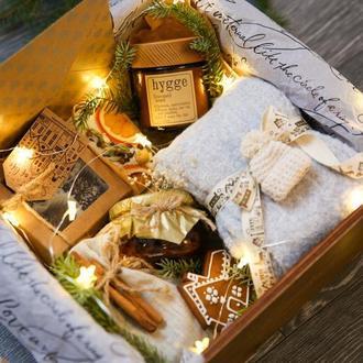 """Подарок на новый год """"GOLD PREMIUM BOX""""/ подарочный набор/ подарок на день рождения"""