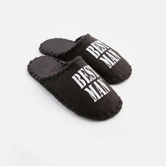 Мужские домашние тапочки Best Man, черного цвета, закрытой формы