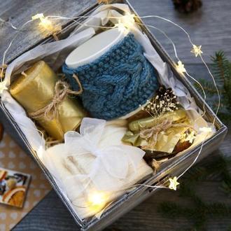 """Подарок на новый год """"В СТИЛЕ HYGGE""""/ подарочный набор/ подарок на день рождения"""