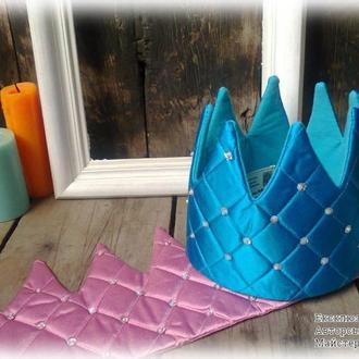 Корона текстильна
