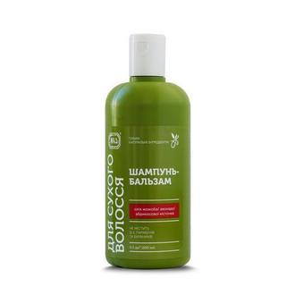 Шампунь-бальзам для сухих волос ТМ ЯКА
