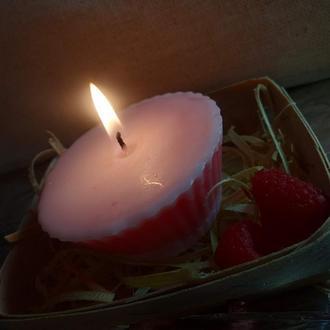 Парафиновая свеча-кексик