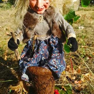 Баба Яга кукла