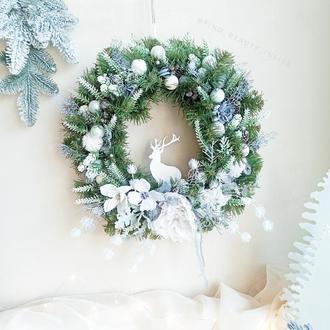 Різдвяний вінок, новорічний вінок