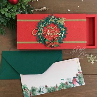 """Gift Box """"Holidays"""" - открытка в коробочке"""