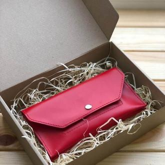 Женский кожаный кошелек Ruby