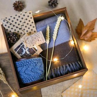 """Новорічний подарунок/ подарунковий набір на день народження """"BLUE BOX"""""""