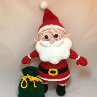 Санта Клаус вязаный