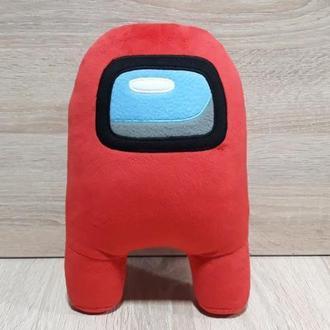 Мягкая игрушка Космонавт - персонаж игры Амонг Ас Among Us 30 см