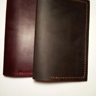 Обложка на паспорт из натуральной кожи ручной работы