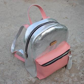 Кожаный рюкзак Барби