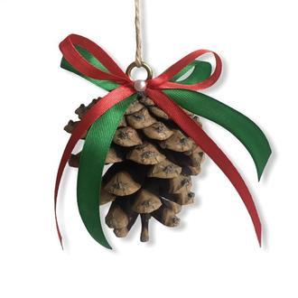 Шишки на ёлку, эко игрушки, новогодний декор, игрушки на ёлку, подарок на Новый год