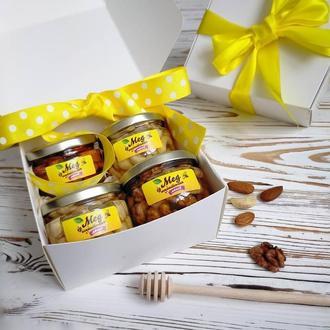 """Подарочный набор """"4 орешка"""" в маленькой коробочке"""