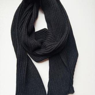 Шарф. Длинний шарф.