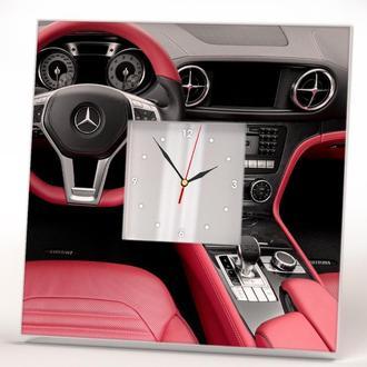 """Стильные подарочные часы """"Мерседес. Mercedes"""""""