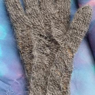 Перчатки козий пух