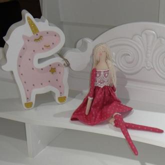 Кукла в стиле Тильда 48см Розитта