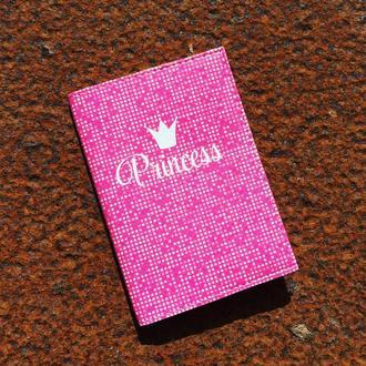 Обложка для паспорта Princess
