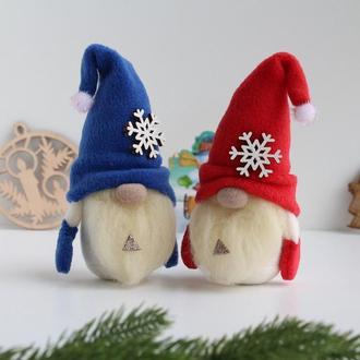 Новогодние гномы, Подарок для дома, Рождественский гном