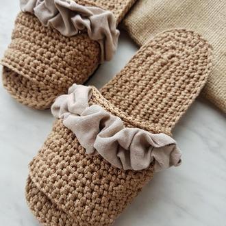 Женская обувь для дома
