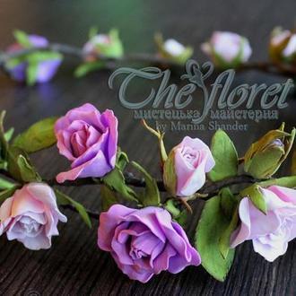 """Венок """"Розовый сад"""""""