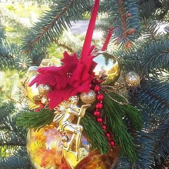 Новогодний елочный шар