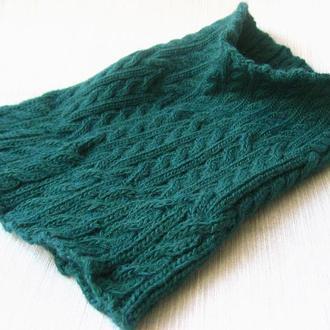 мужской шарф снуд